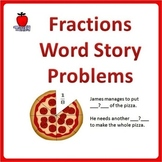 Fractions Word Problems Grade 3-5