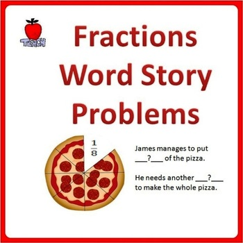 Fractions Word Problems - 4th Grade, 5th Grade by TeachKidLearn ...