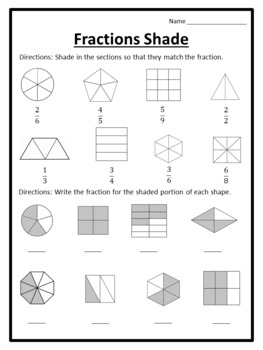 shading fractions worksheets shading fractions shaded. Black Bedroom Furniture Sets. Home Design Ideas