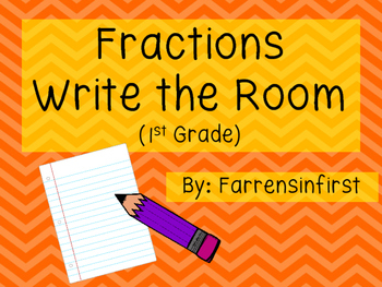 Fractions Write the Room