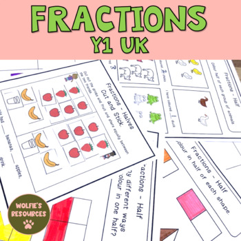 Fractions Year 1 UK
