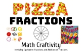Fractions a Math Pizza Craftivity