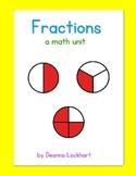 Fractions - a math unit