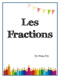 Fractions and decimals- full unit! En Français
