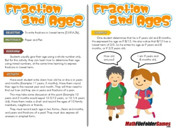 Fractions and Ages
