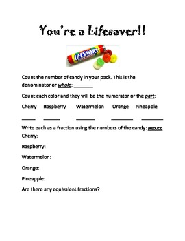 Fractions and Candy!