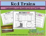 Fractions and Cuisenaire rods for middle school math students