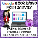 Fractions and Decimal Models TEKS 4.2G 4.2E 4.2F 4.2H 4.3G Google Classroom