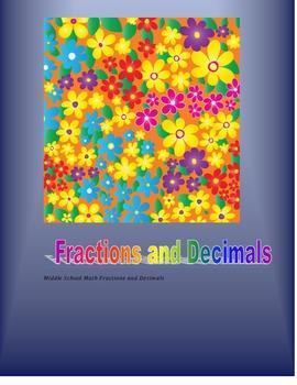 Fractions and Decimals