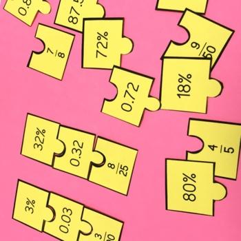 Fractions and Decimals Activity Bundle