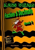 Fractions and Decimals - Book 1 - 30 pages