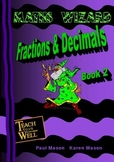 Fractions and Decimals - Book 2 - 30 pages