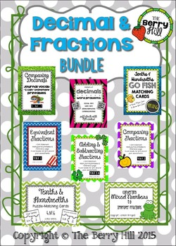 Fractions and Decimals Bundle - 8 Products Included