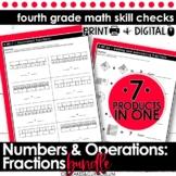 Fractions and Decimals Bundle   Fourth Grade Math