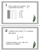 Fractions and Decimals Jalapeno Task Cards