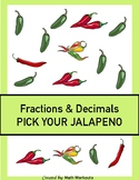 Fractions and Decimals Differentiated Task Cards