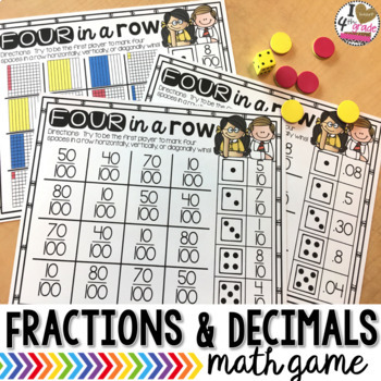 Fractions and Decimals Game