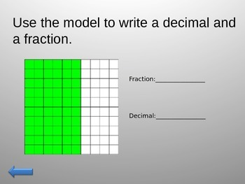 Fractions and Decimals JEOPARDY Grade 4