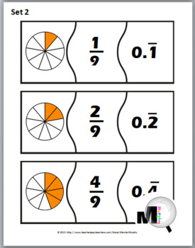 Fractions and Decimals Puzzles - Fraction Activities - Fractions to Decimals