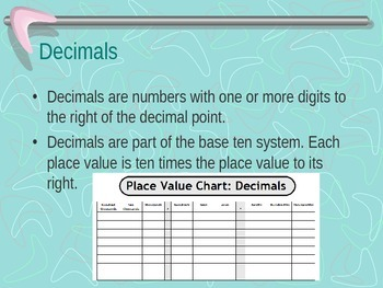 Fractions and Decimals PowerPoint