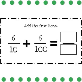 Fractions and Decimals Practice