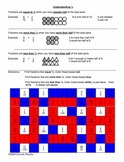 Fractions and Decimals Puzzles - Comparing to 1/2 (2 activ