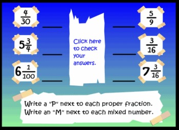 Fractions and Decimals SMART Notebook Lesson