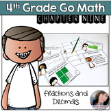 4th Grade Math Center Fractions and Decimals