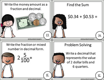 4th Grade Go Math Chapter 9 Fractions and Decimals