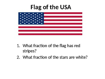 Fractions and Flags