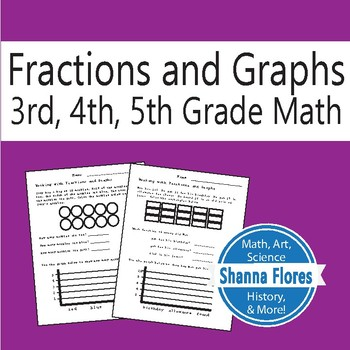 Fractions and Graph - Math Word Problems - 3rd, 4th, 5th