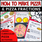 Fractions and How To's at the Pizzeria [A CLASSROOM TRANSF
