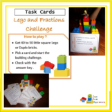 Fractions and Lego STEM Task Cards