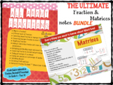 Fractions and Matrices Bundle