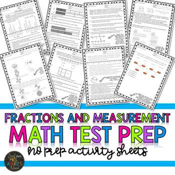 Fractions and Measurement Test Prep