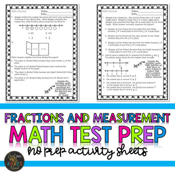 Fractions Test Prep
