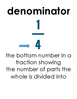 Fractions and Mixed Numbers