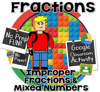 Fractions and Mixed Numbers - GOOGLE CLASSROOM