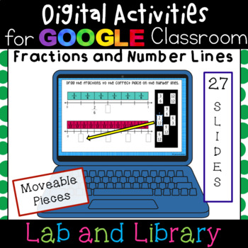 Fractions and Number Lines: Digital Activities for Google Classroom