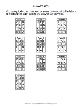 Fractions and Percents Puzzles
