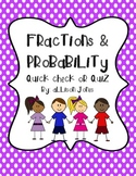 Fractions and Probability Review