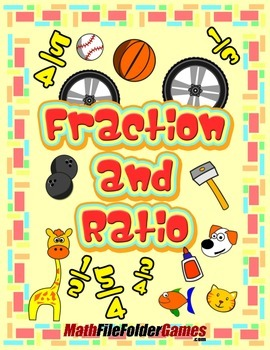 Fractions and Ratios {Math Game}