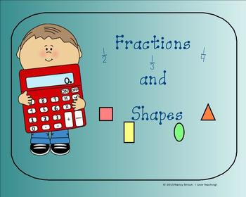 Fractions and Shapes: A Smartboard Activity for First Grade