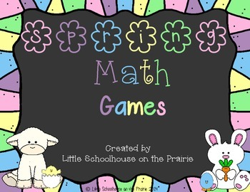 Fractions and Shapes - Spring Math Games