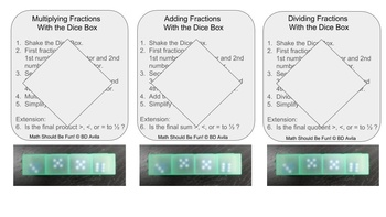 Fractions and a Dice Box