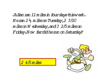 Fractions and word problems