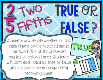 Fractions are Fabulous! 5 Activities for Representing Fractions