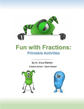 Fractions are Fun Animated PP Lesson and PDF Activities