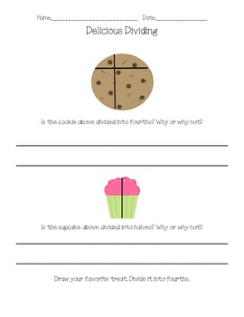 Fractions are Sweet!