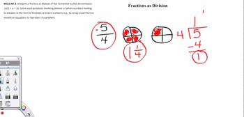 Fractions as Division - 5th Grade Common Core - Video FREE